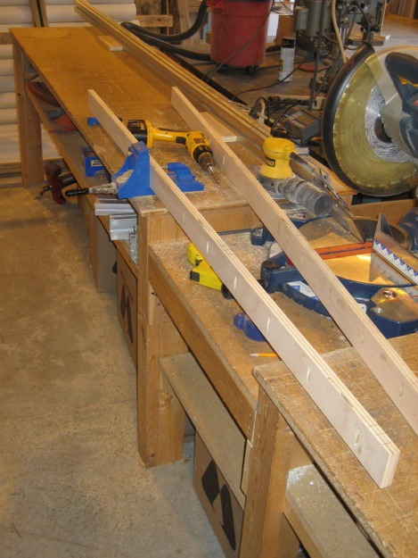 kreg jig hole drilling